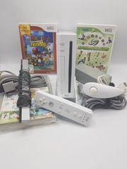 Nintendo Wii Konsole Mario Tennis