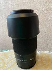 Sony objektiv SAL 75300