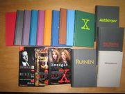 Akte X Bücher Erstausgaben alle