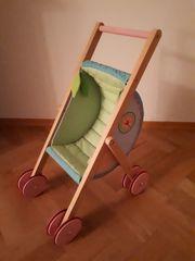 Wunderschöner Puppenwagen HABA meiner Tochter