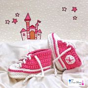 True Shoes - gehäkelte Babyschuhe