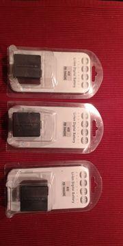 3 Akkus Videokamera Panasonic NV-GS120