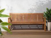 Gartenbank White Balau Holz hellbraun