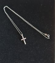 Echt Silber Halskette mit Anhänger