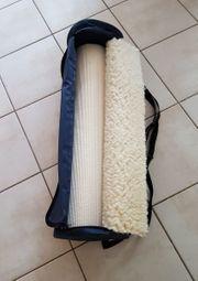 Yogamatte aus Schurwolle mit Tasche