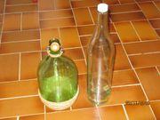Glasballon Glasflaschen