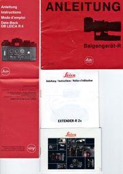 Leica Prospekte und Anleitungen