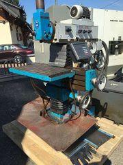Fräsmaschine Konventionell mit Digitalanzeige