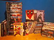 Comicsammlung plus mangas marvel dc
