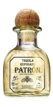 Patron Silver und Reposado Tequila Miniatur
