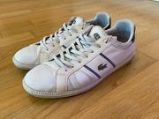 Lacoste Sneaker in weiß Größe