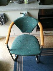 4x Armlehnenstuhl Stuhl mit Lehne