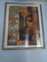 Stickbild Buddha