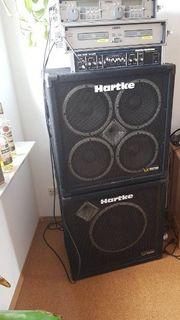 Bass Boxen und Bass Verstärker
