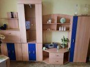Wohnzimmer Schrankwand gebraucht OHNE DEKO