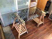 Schreibtisch Tisch IKEA FINNVARD und