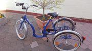 Dreirad für geheingeschränkte Menschen