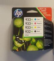 HP 933 XL 4-Pack Druckerpatrone