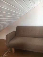 Couch mit Schlaffunktion Midcentury