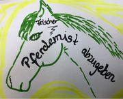 Frischer Pferdemist