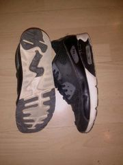 Schwarze Nike Airmax