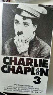 Charlie Chaplin VHS-Kassetten 1-5