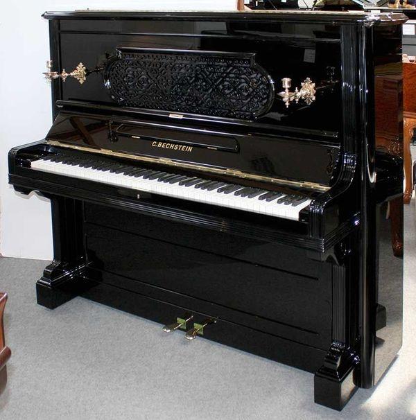Klavier Bechstein schwarz poliert 136