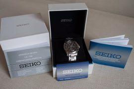 Uhren - Seiko Premier Alarm Chronograph SPC051P1