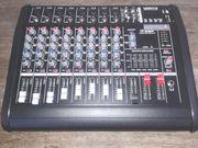 8 Kanal Powermixer mit 16DSP