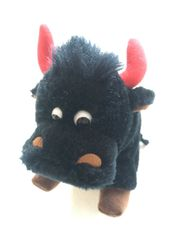 Plüschbüffel Maskottchen oder Kinderspielzeug neu