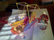 Barbie Boot und Puppen