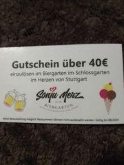 Gutschein Biergarten Stuttgart