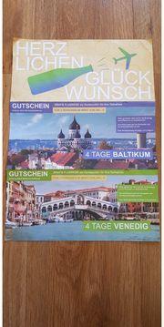 4 tage Baltikum oder Venedig