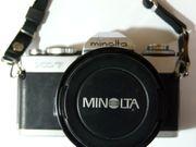 MinoltaXD7 mit Zubehör