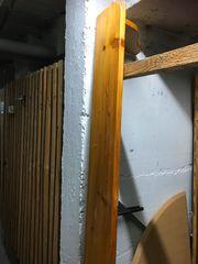 Vollholz-Regal zur Wandmontage 220cm