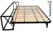 Horizontal King-Size-Bett Classic-Wandbett 160cm x