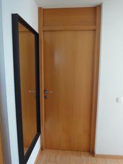 Holztür mit Stockrahmen Buche
