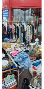 Garagenflohmarkt Hobbyaufgabe 15 08 ab