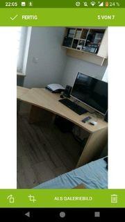 Hochwertiger Schreibtisch Wellemöbel