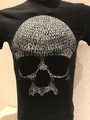 Tshirt bedruckt Skull Totenkult Street