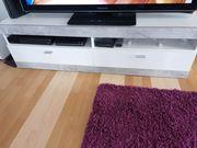 Tv Schrank Lowboard weiß
