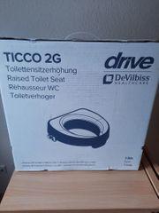 Toilettensitzerhöhung Ticco 2G drive Neu