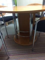 Esszimmertisch ausziehbar mit 4 Stühle