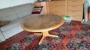 Couchtisch Tisch rund Säulentisch Vintage