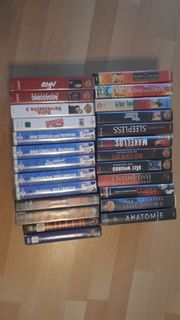 VHS Kasetten z B für