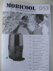 Mobicool D53 elektrischer Bier Weinkühler