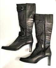 Schwarze Tamaris Stiefel Gr 38