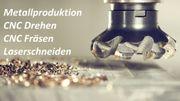 CNC Drehen und Fräsen Metallproduktion