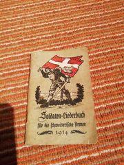 Liederbuch Schweizer Armee