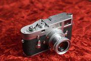 Leica M2 chrom mit Elmar